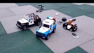 PURSUIT OF VIOLATORS. Cartoon about Police cars, Garbage truck and other Cars Toys for kids TaTaToys