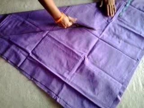 Churidar pajami cutting in hindi