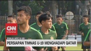 Persiapan Timnas U-19 Hadapi Qatar