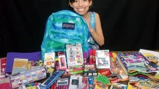 Girls Back To School Supplies Haul + Givewaway!!! -KidToyTesters (Closed)