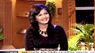 BD Popular Model Maria Noor's Bangla Celebrity Talkshow on Masranga