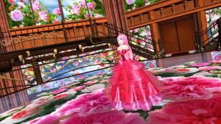 MMD Tda Luka Calc  English & piano ver Rose Garden