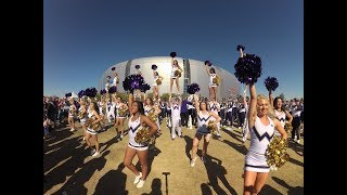 Husky Marching Band & UW Spirit perform at the Fiesta Bowl tailgate in VR180