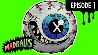 MADBALLS Cartoons ⚫ Mad Pets ⚫ Episode 1