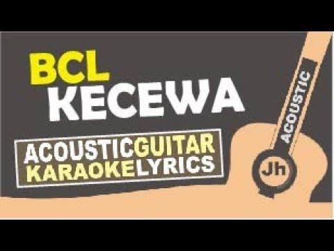 Bunga Citra Lestari - Kecewa (Karaoke Acoustic Intrumental)