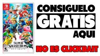 Como conseguir el Smash Bros ULTIMATE GRATIS (NO CLICKBAIT)