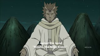 NINJA CREED Naruto Shippuden Review Episode 464 – Ninshu: The Ninja Creed