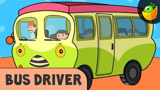 Bus Driver | Bus Song || Occupational Songs | Community Helpers | Rhymes on Profession