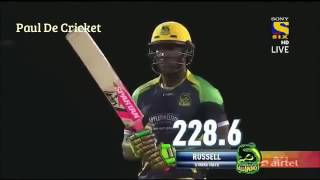Andre Russell power hits also 100 off 42 ....! ( DRE RUSS )