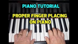 How to keep Fingers on piano # Harmonium  bajane ka sahi tarika