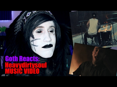 Goth Reacts to twenty one pilots Heavydirtysoul OFFICIAL VIDEO