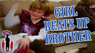 Supernanny | Girl Kicks Older Brother In The Private Parts