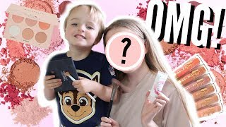 LITTLE BROTHER DOES MY MAKEUP! *GONE WRONG* 😱