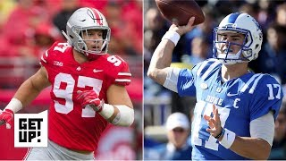 2019 NFL Draft: Nick Bosa is the best player, Daniel Jones the best QB – Mel Kiper Jr. | Get Up!