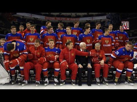 Официальная фотосессия молодежной сборной России перед
