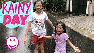 RAINY DAY with Kaycee & Rachel