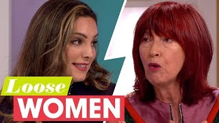 Kelly Brook and Janet Street-Porter Lock Horns Over the Sun's 'Bust of Britain' Competition | LW