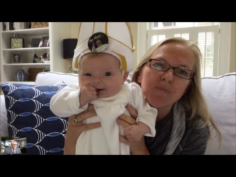 Pope Francis Tells Mom of Baby Pope: You Have a Great Sense of Humor