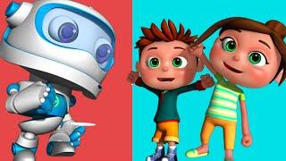Robot Song | Kids Songs & Nursery Rhymes | Videogyan 3D Rhymes