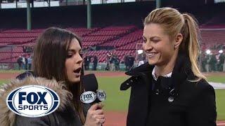 Erin Andrews joins Katie Nolan to talk World Series