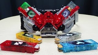 Kamen Rider Double DX DOUBLE DRIVER Super Best Edition: EmGo's Kamen Rider Reviews N' Stuff