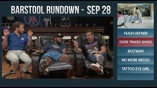 Barstool Rundown - September 28, 2017