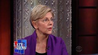 """Elizabeth Warren On Trump: """"He Sounded Like A Two-Bit Dictator"""""""