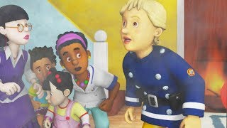 Fireman Sam New Episodes   Water Tower Inferno - Firefighter Penny's Saves  🚒 🔥 Kids cartoon