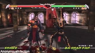 Mortal Kombat: Deception - All Hara Kiris