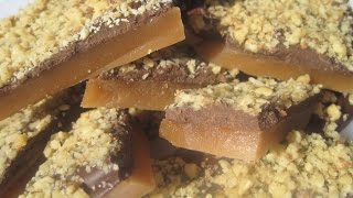 Christmas Day ENGLISH TOFFEE - How to make ENGLISH TOFFEE Candy Recipe