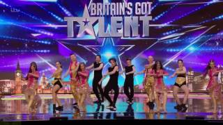 Britain's Got Talent 2016 S10E07 Bollywood Fusion Hip-Hop Meets Bollywood Dancers Full Audition