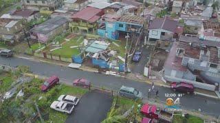 Maria Left Path Of Destruction, No Power In Puerto Rico