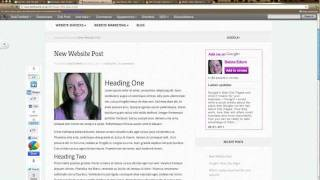 WordPress For Beginners Tutorial - How To Create Thumbnail Images