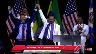 Ethiopian PM Abiy Ahmed Minnesota Speech