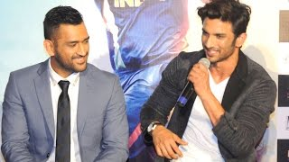 M.S Dhoni Official Trailer Launch with M.S.Dhoni & Sushant Singh Rajput