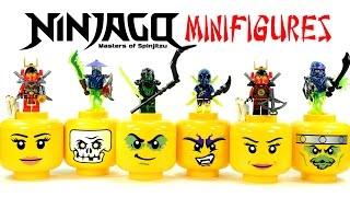 Ninjago Possession Ghosts Warriors w/ Evil Green Ninja LEGO KnockOff Minifigures Set 29