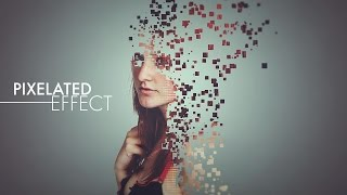 Pixelated Effect - Photoshop Tutorial