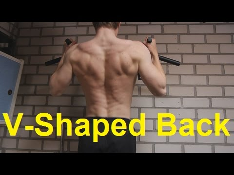 V-Shape Back Secrets: How To Build A Big Upper Back