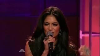 Nicole Scherzinger - Don't Hold Your Breath (Live on Jay Leno Show)