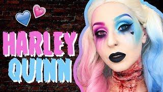 Harley Quinn SFX Makeup HALLOWEEN 2017   Marion Cameleon