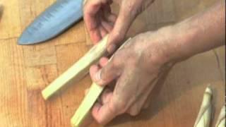 How to cut lemon grass