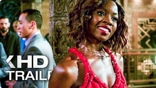 """BLACK PANTHER """"Casino Fight"""" Clip & Trailer (2018)"""