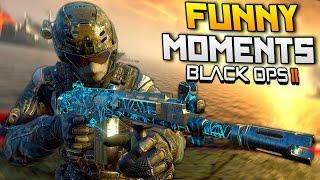 Black Ops 2 Funny Moments - Riot Squad, Nuke Killstreak, Fails (BO2)