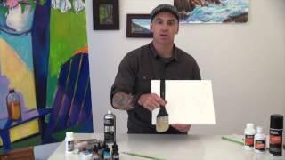 Liquitex   Water Based Spray Varnish