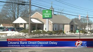 Citizens Bank Outage Resolved