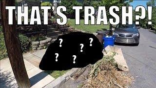 BEST FIND EVER!!! Live Garbage Picking - Advertisement - Scrap