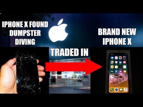 Xxx Mp4 TRADING IN BROKEN IPHONE X FOUND DUMPSTER DIVING FOR A BRAND NEW IPHONE X AT THE APPLE STORE 3gp Sex