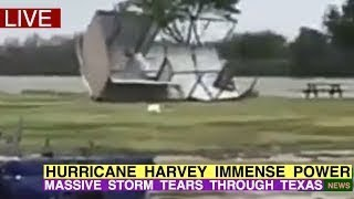 HEART-WRENCHING FOOTAGE OF HURRICANE HARVEY TEARING THROUGH TEXAS ️