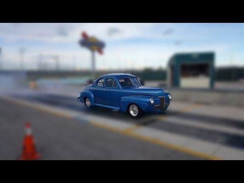 Grandpa Drag Races 1941 Ford Like A Boss