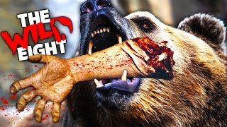 THE MOST DANGEROUS ANIMAL - WILD EIGHT Best Survival Game ever! (Funny Moments & Epic Fails)